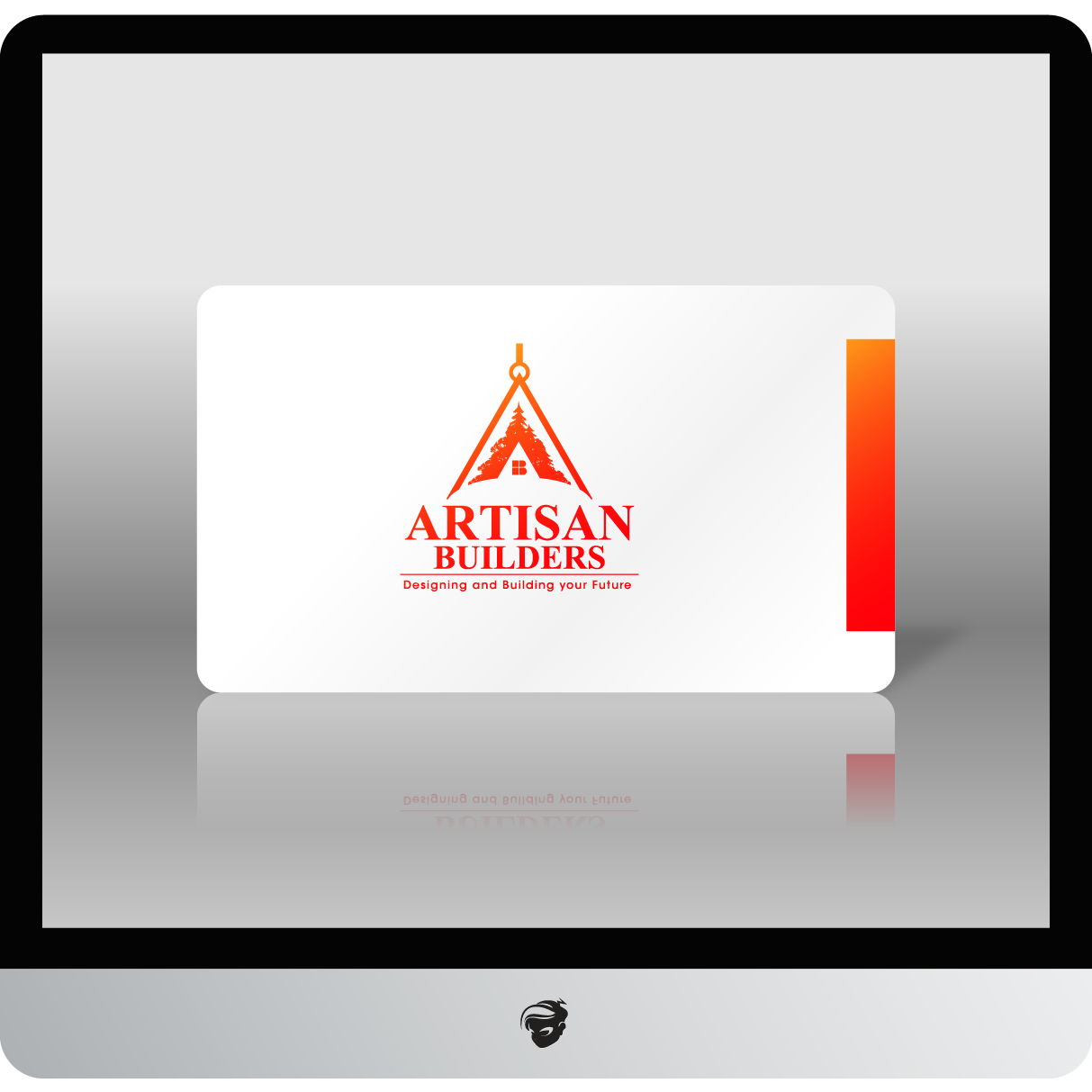 Logo Design by zesthar - Entry No. 214 in the Logo Design Contest Captivating Logo Design for Artisan Builders.