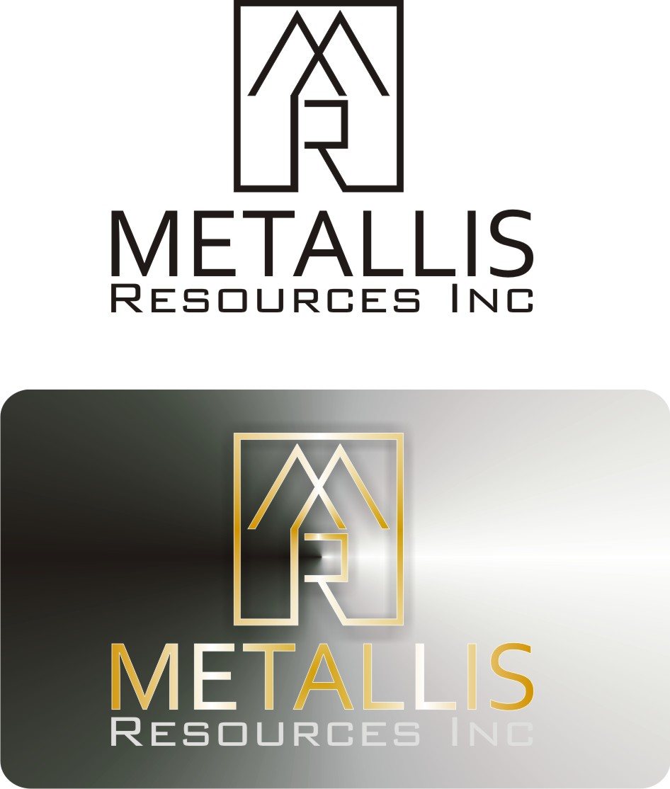 Logo Design by Korsunov Oleg - Entry No. 78 in the Logo Design Contest Metallis Resources Inc Logo Design.