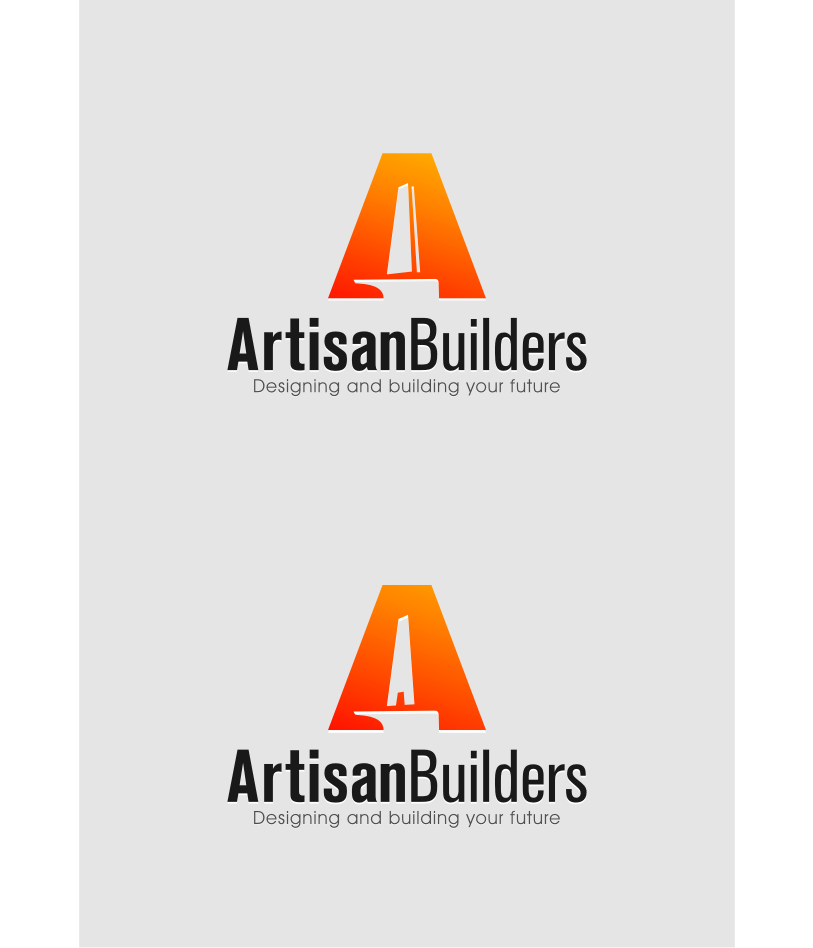 Logo Design by Muhammad Nasrul chasib - Entry No. 215 in the Logo Design Contest Captivating Logo Design for Artisan Builders.