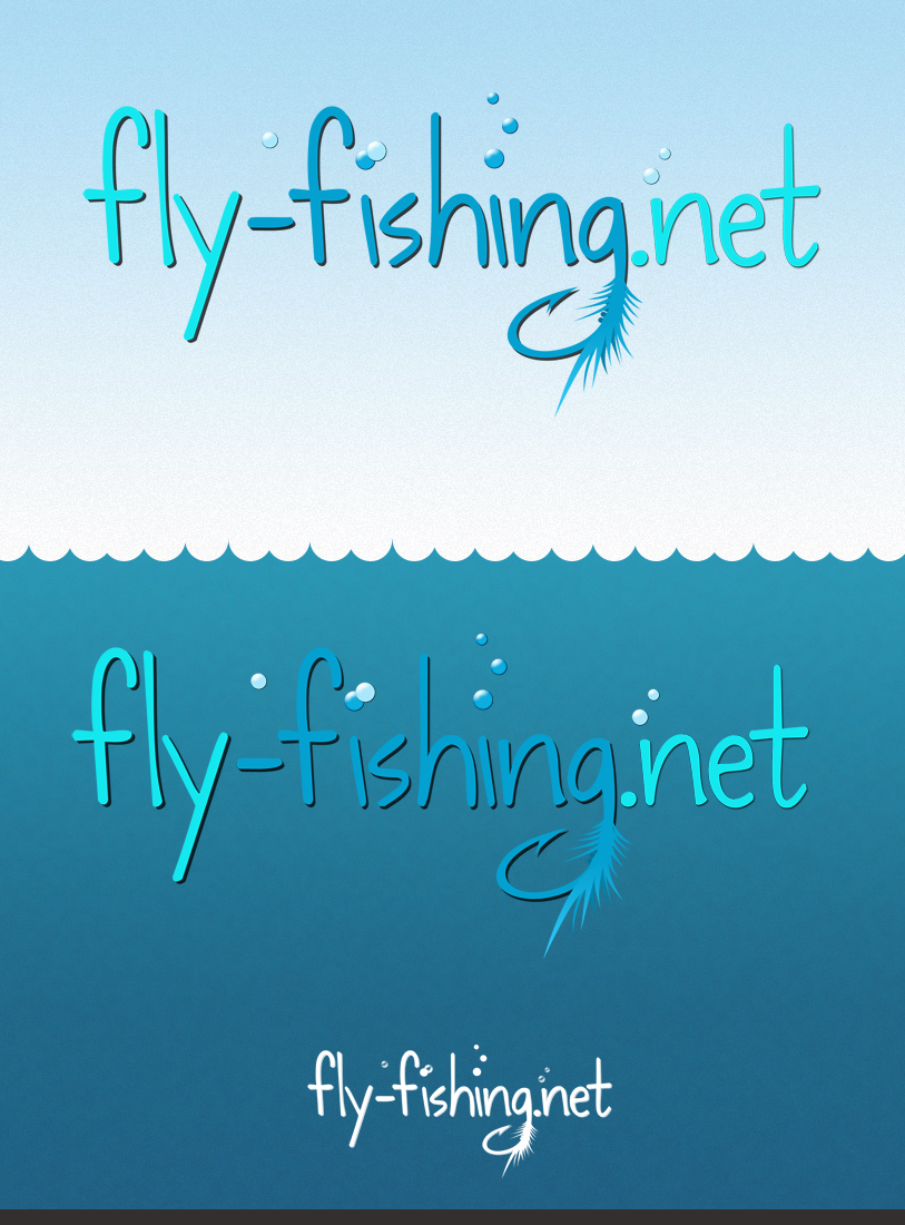 Logo Design by Private User - Entry No. 85 in the Logo Design Contest Artistic Logo Design for fly-fishing.net.