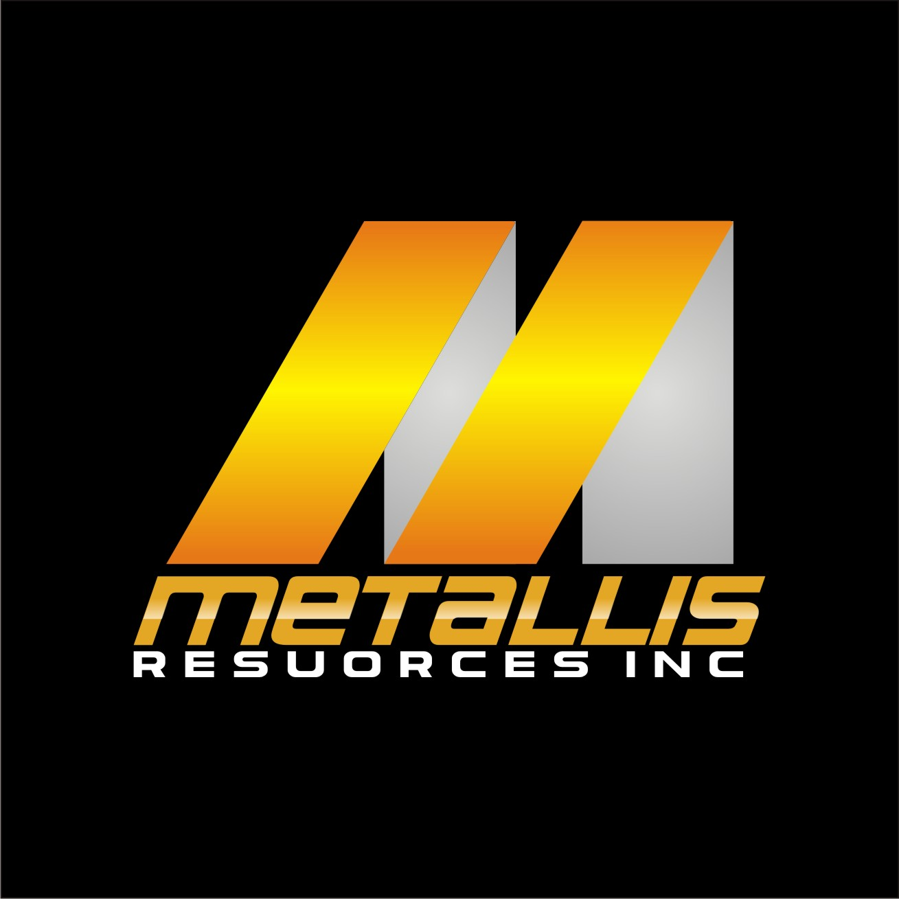 Logo Design by Rock n Rool - Entry No. 81 in the Logo Design Contest Metallis Resources Inc Logo Design.