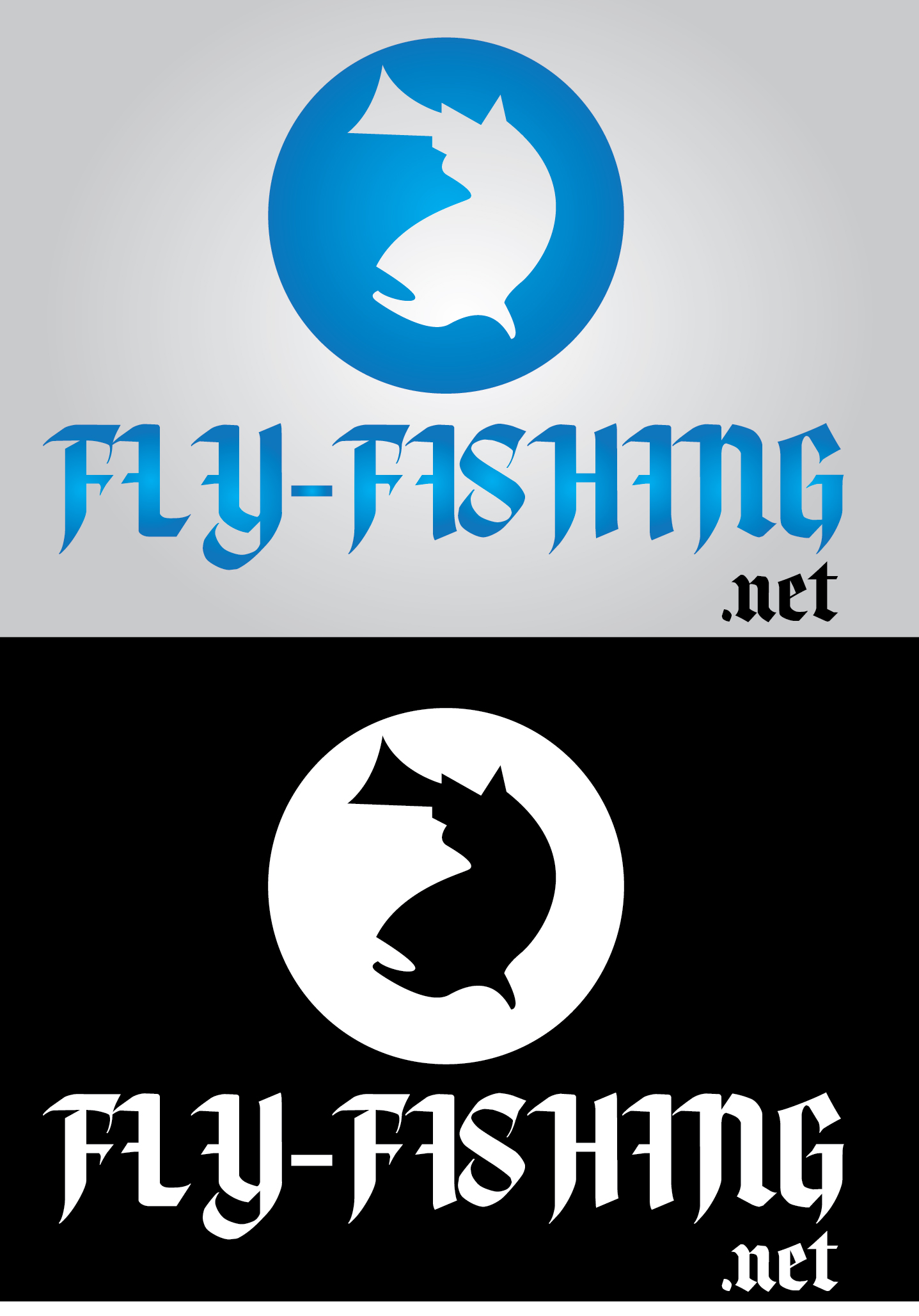 Logo Design by mediaproductionart - Entry No. 86 in the Logo Design Contest Artistic Logo Design for fly-fishing.net.