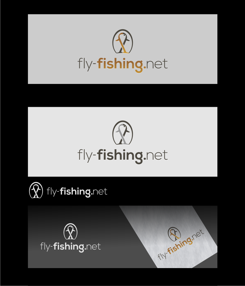 Logo Design by graphicleaf - Entry No. 87 in the Logo Design Contest Artistic Logo Design for fly-fishing.net.