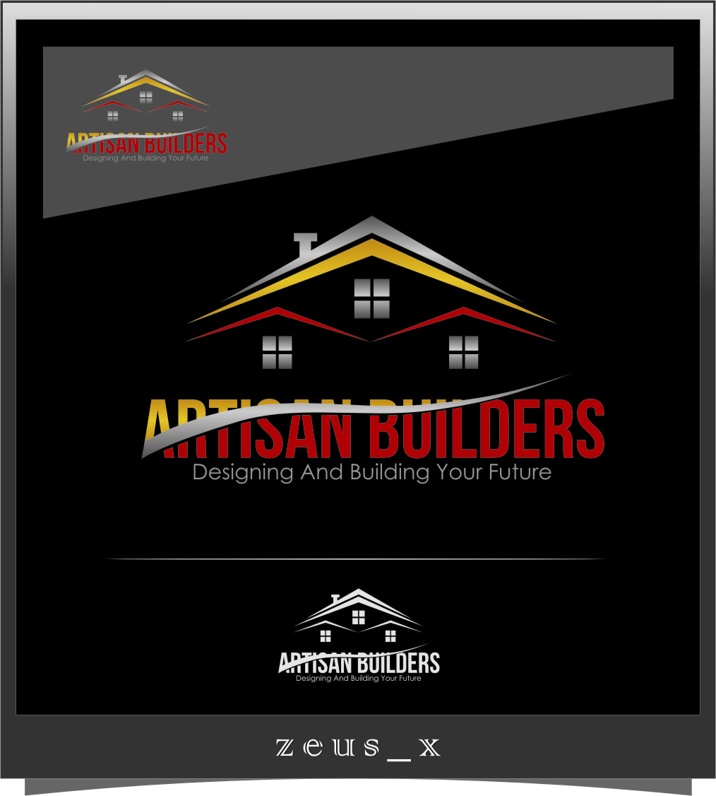 Logo Design by RasYa Muhammad Athaya - Entry No. 222 in the Logo Design Contest Captivating Logo Design for Artisan Builders.