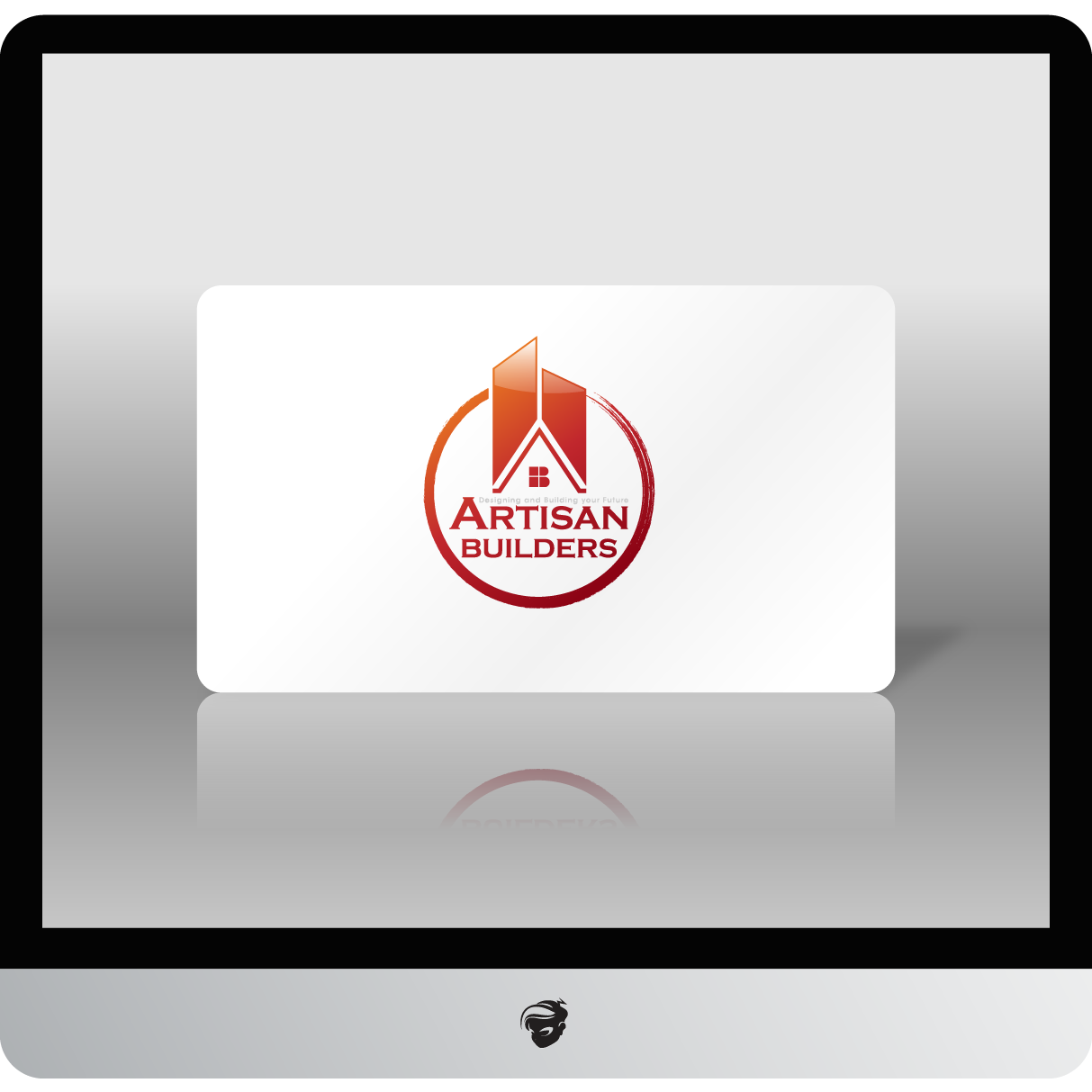 Logo Design by zesthar - Entry No. 226 in the Logo Design Contest Captivating Logo Design for Artisan Builders.