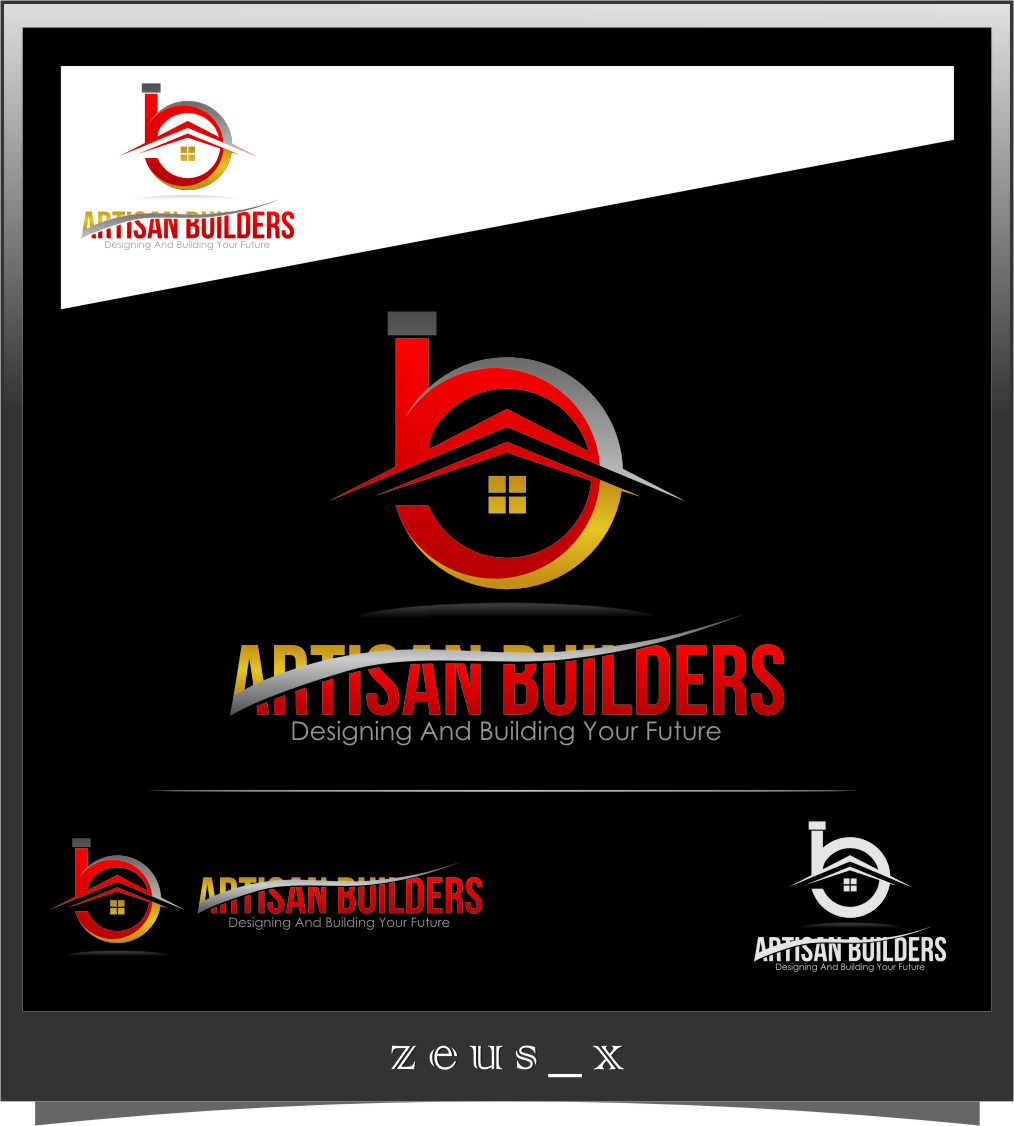 Logo Design by RasYa Muhammad Athaya - Entry No. 227 in the Logo Design Contest Captivating Logo Design for Artisan Builders.