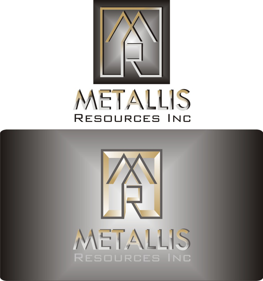Logo Design by Korsunov Oleg - Entry No. 83 in the Logo Design Contest Metallis Resources Inc Logo Design.