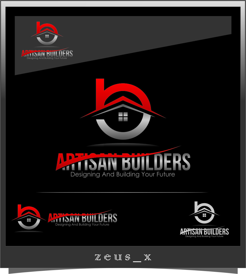 Logo Design by RasYa Muhammad Athaya - Entry No. 229 in the Logo Design Contest Captivating Logo Design for Artisan Builders.