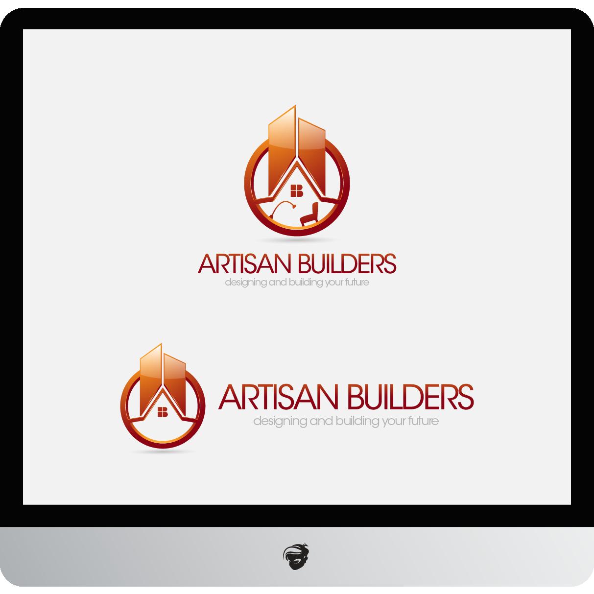 Logo Design by zesthar - Entry No. 230 in the Logo Design Contest Captivating Logo Design for Artisan Builders.