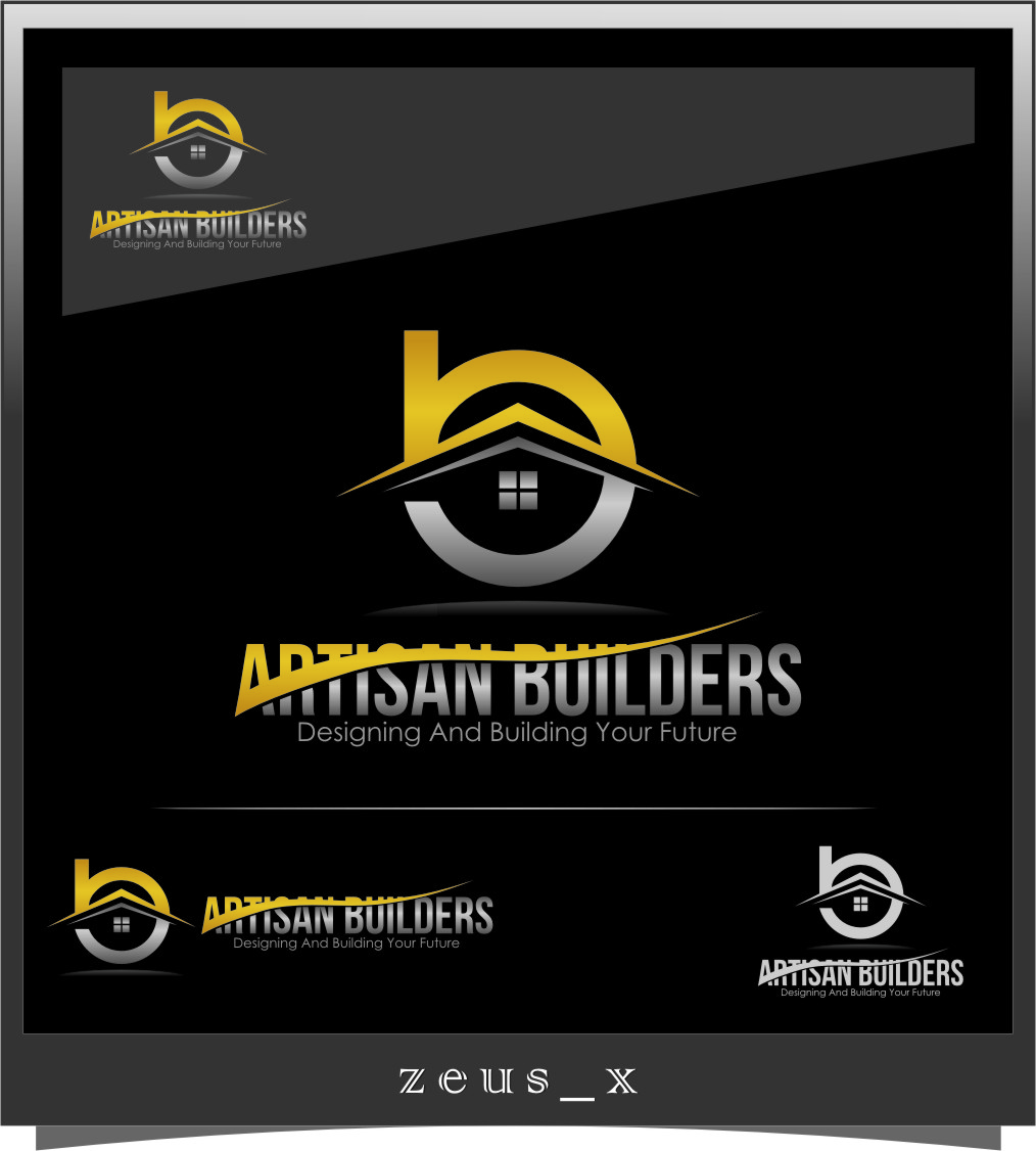 Logo Design by RasYa Muhammad Athaya - Entry No. 231 in the Logo Design Contest Captivating Logo Design for Artisan Builders.
