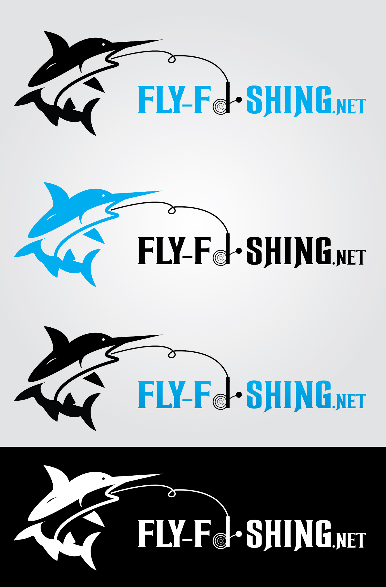 Logo Design by mediaproductionart - Entry No. 89 in the Logo Design Contest Artistic Logo Design for fly-fishing.net.