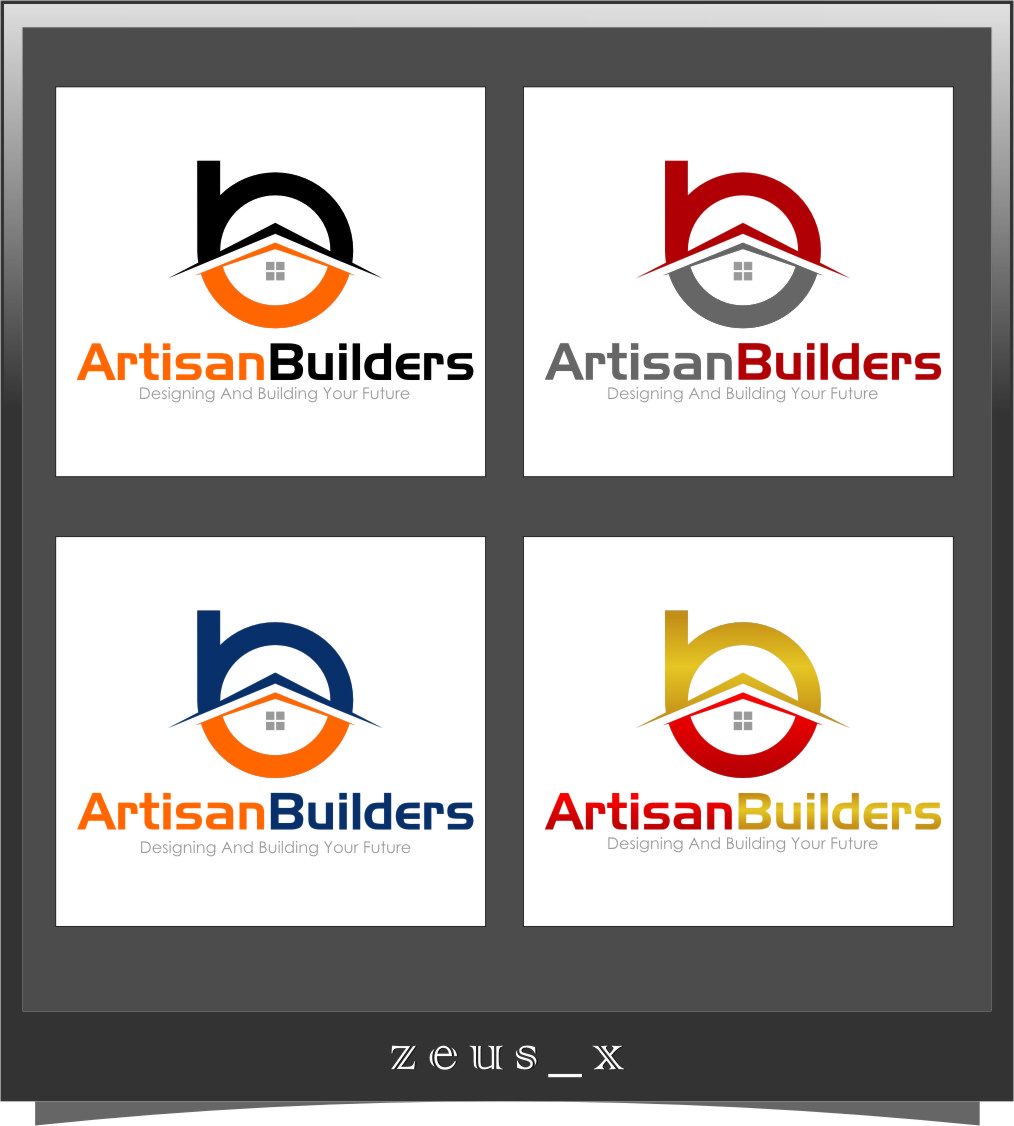 Logo Design by Ngepet_art - Entry No. 232 in the Logo Design Contest Captivating Logo Design for Artisan Builders.