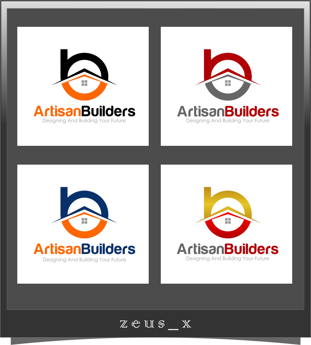 Logo Design by Ngepet_art - Entry No. 234 in the Logo Design Contest Captivating Logo Design for Artisan Builders.