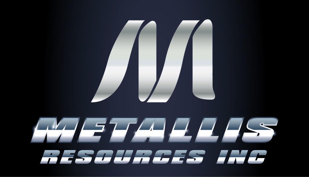 Logo Design by mediaproductionart - Entry No. 85 in the Logo Design Contest Metallis Resources Inc Logo Design.