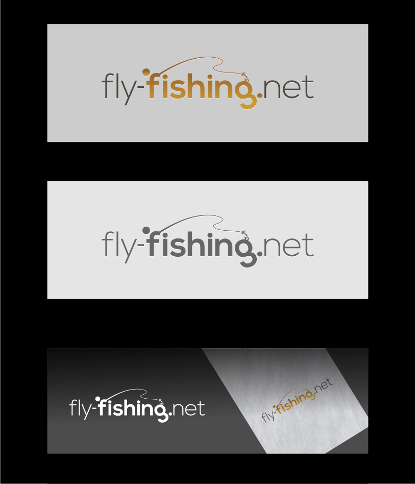 Logo Design by graphicleaf - Entry No. 92 in the Logo Design Contest Artistic Logo Design for fly-fishing.net.