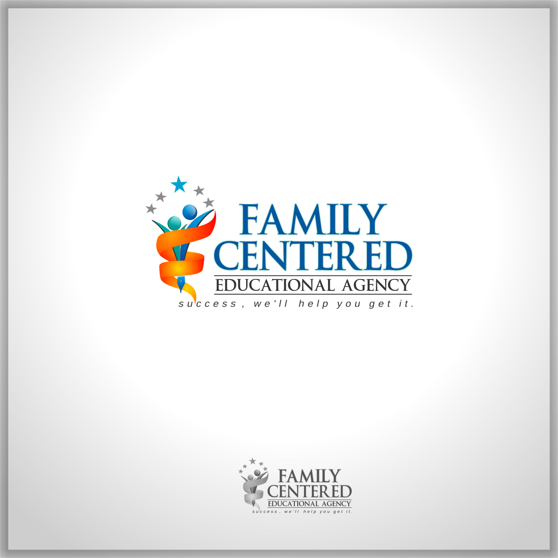 Logo Design by Private User - Entry No. 66 in the Logo Design Contest Captivating Logo Design for Family Centered Educational Agency.