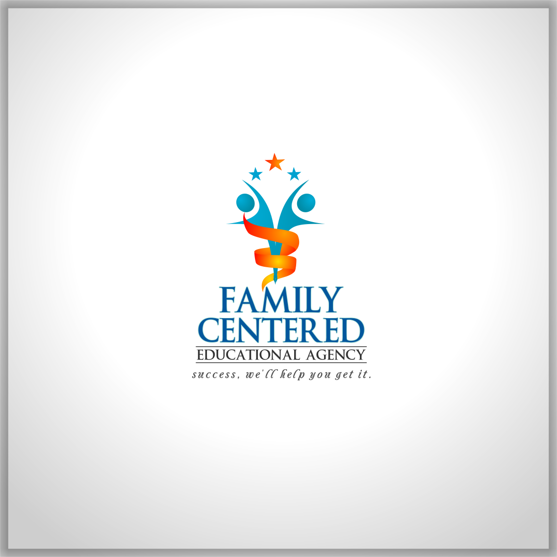 Logo Design by Private User - Entry No. 67 in the Logo Design Contest Captivating Logo Design for Family Centered Educational Agency.