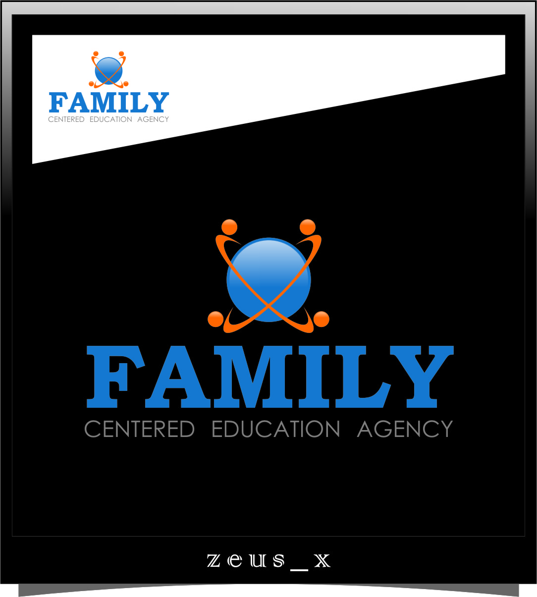 Logo Design by Ngepet_art - Entry No. 68 in the Logo Design Contest Captivating Logo Design for Family Centered Educational Agency.
