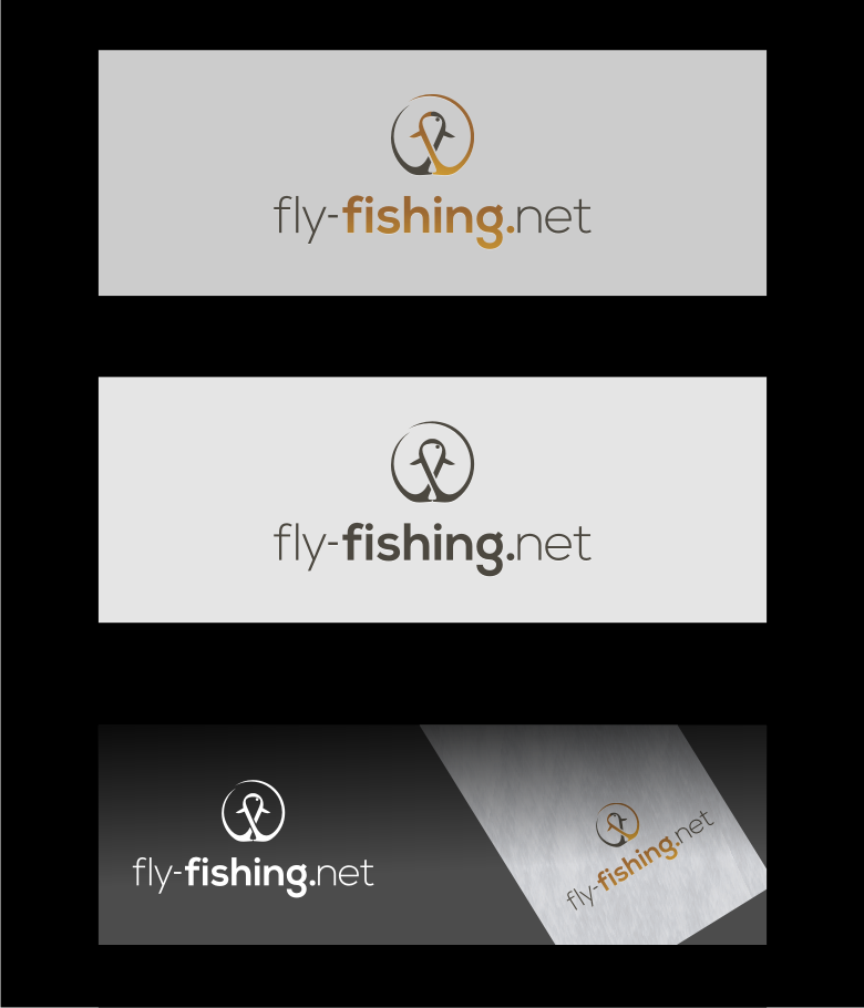 Logo Design by graphicleaf - Entry No. 93 in the Logo Design Contest Artistic Logo Design for fly-fishing.net.
