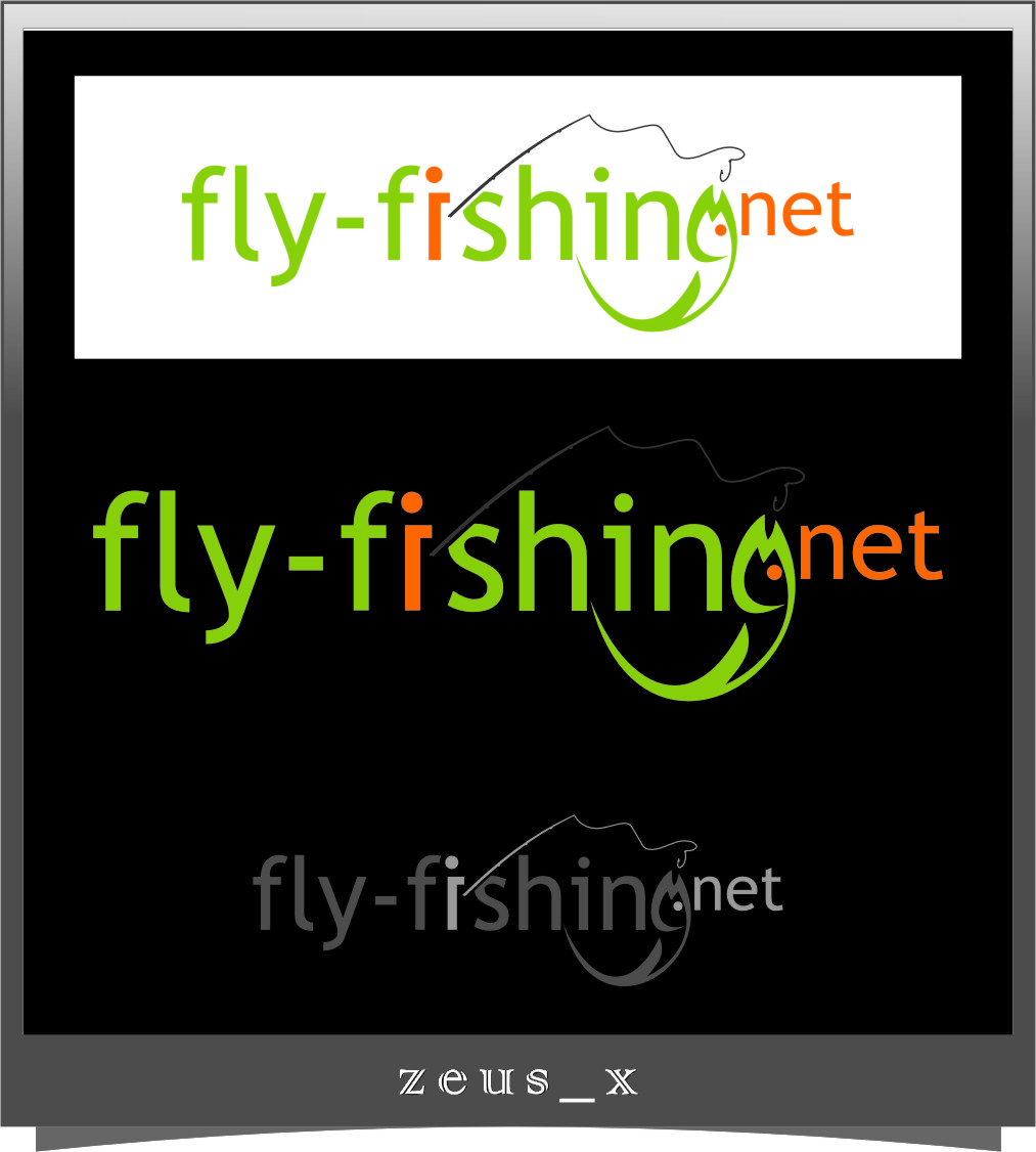 Logo Design by RasYa Muhammad Athaya - Entry No. 95 in the Logo Design Contest Artistic Logo Design for fly-fishing.net.