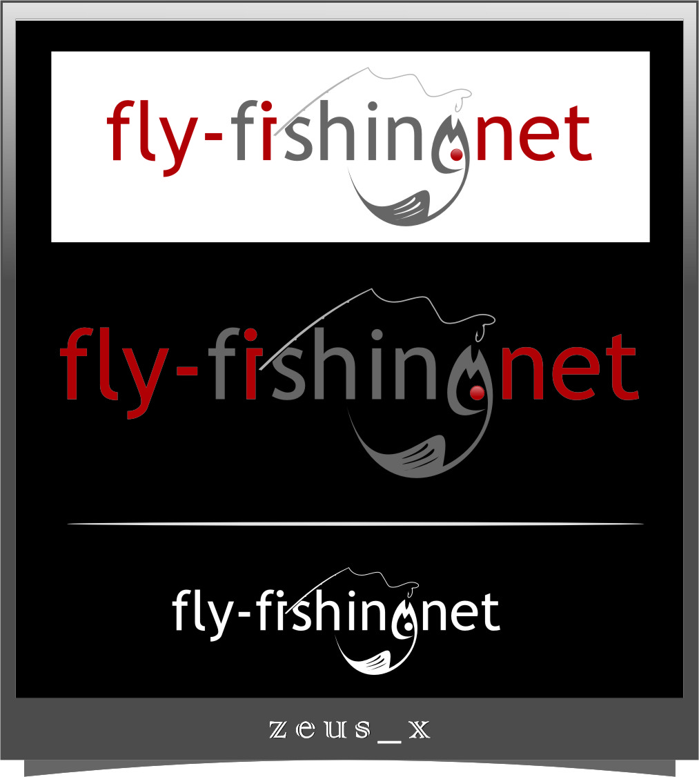 Logo Design by RasYa Muhammad Athaya - Entry No. 98 in the Logo Design Contest Artistic Logo Design for fly-fishing.net.