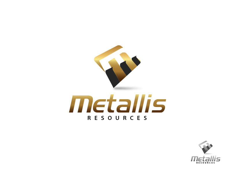 Logo Design by jpbituin - Entry No. 95 in the Logo Design Contest Metallis Resources Inc Logo Design.