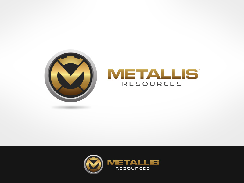 Logo Design by jpbituin - Entry No. 96 in the Logo Design Contest Metallis Resources Inc Logo Design.