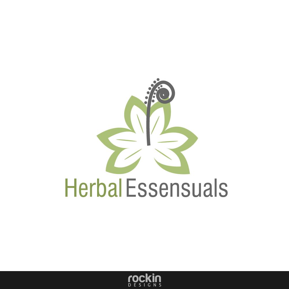 Logo Design by rockin - Entry No. 3 in the Logo Design Contest Captivating Logo Design for Herbal Essensuals.