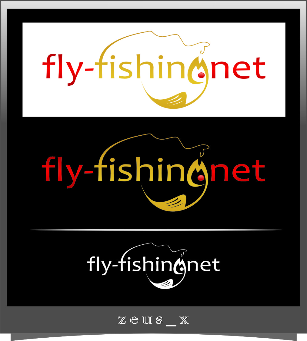 Logo Design by RasYa Muhammad Athaya - Entry No. 110 in the Logo Design Contest Artistic Logo Design for fly-fishing.net.