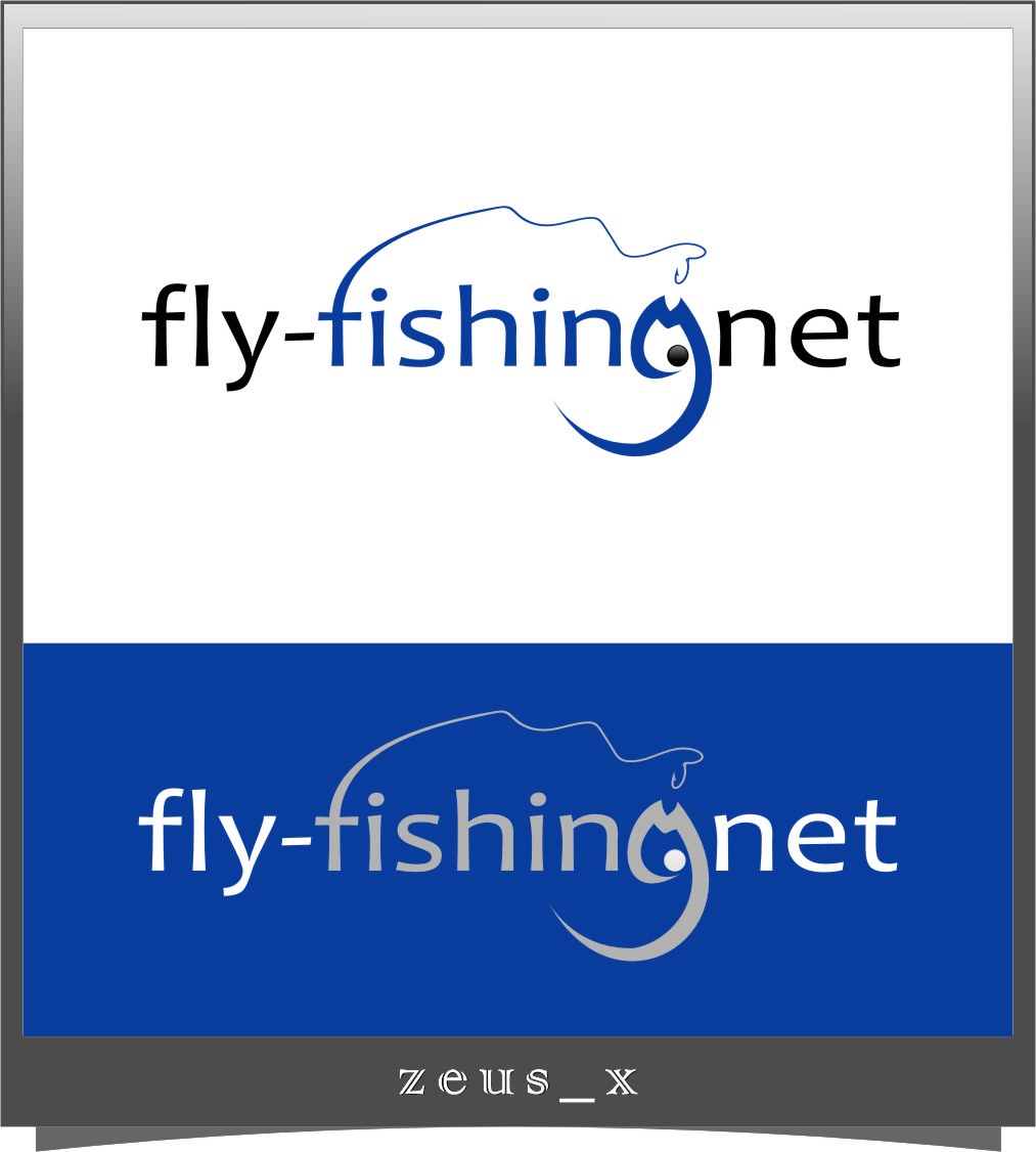 Logo Design by RasYa Muhammad Athaya - Entry No. 111 in the Logo Design Contest Artistic Logo Design for fly-fishing.net.