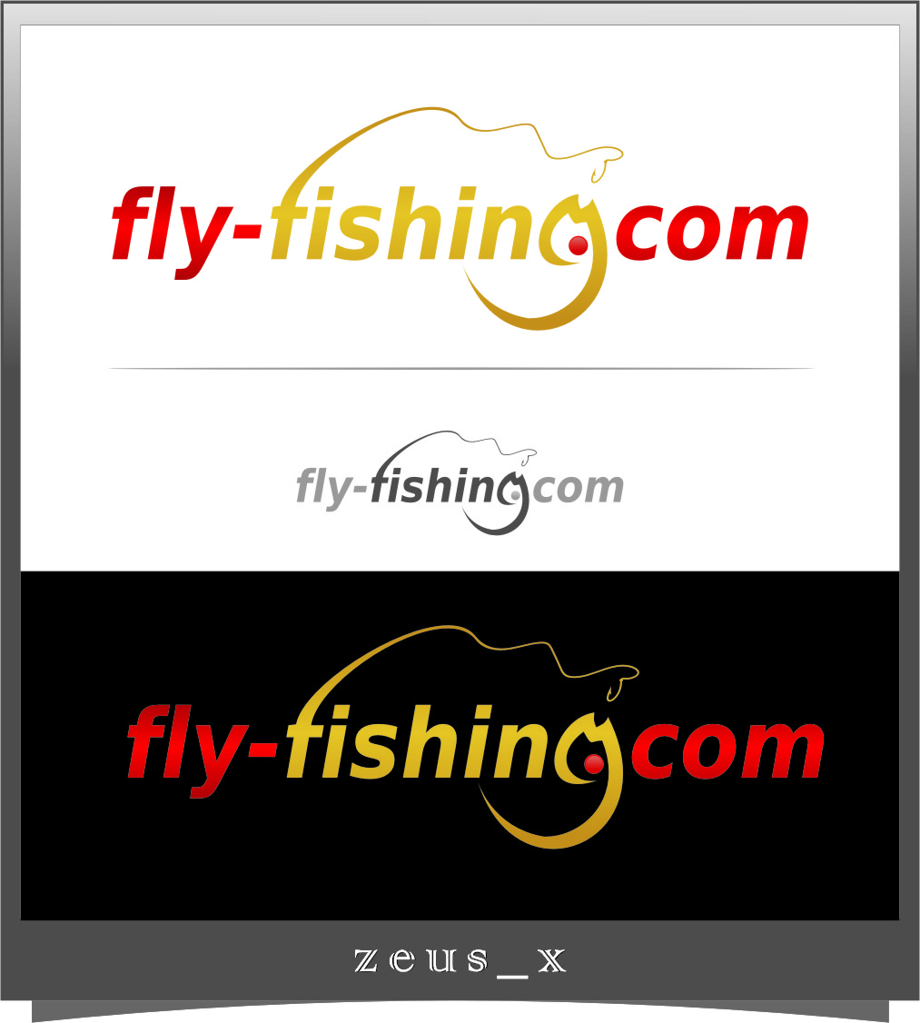 Logo Design by Ngepet_art - Entry No. 112 in the Logo Design Contest Artistic Logo Design for fly-fishing.net.
