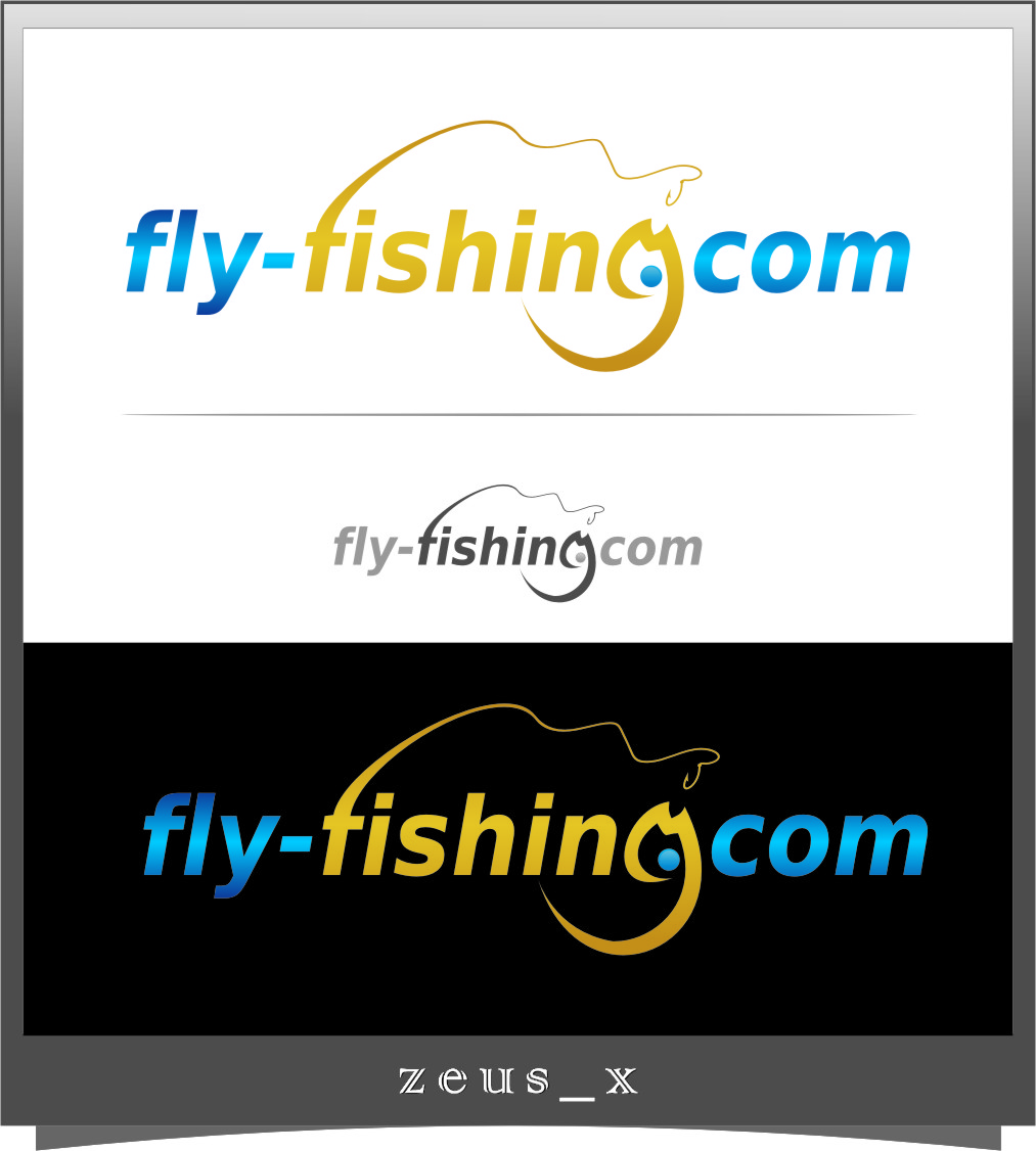 Logo Design by Ngepet_art - Entry No. 113 in the Logo Design Contest Artistic Logo Design for fly-fishing.net.