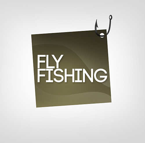 Logo Design by Jan Chua - Entry No. 114 in the Logo Design Contest Artistic Logo Design for fly-fishing.net.