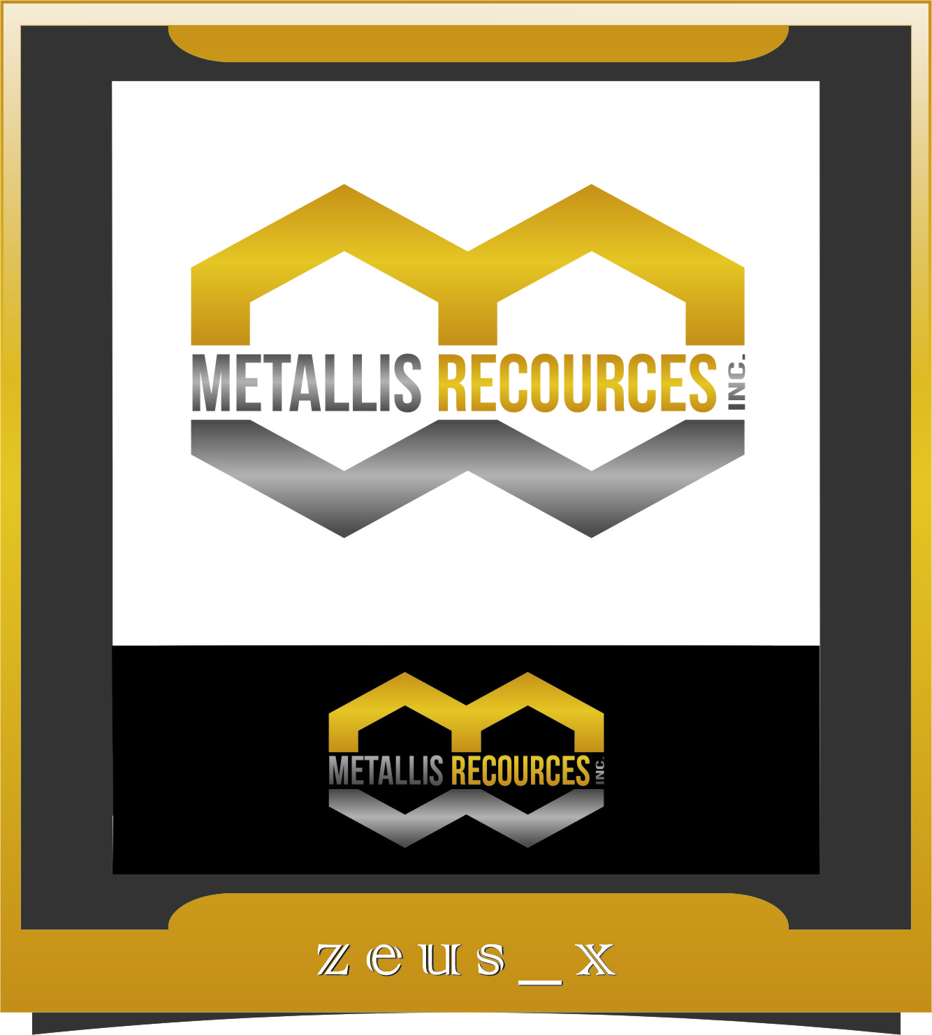 Logo Design by RasYa Muhammad Athaya - Entry No. 99 in the Logo Design Contest Metallis Resources Inc Logo Design.