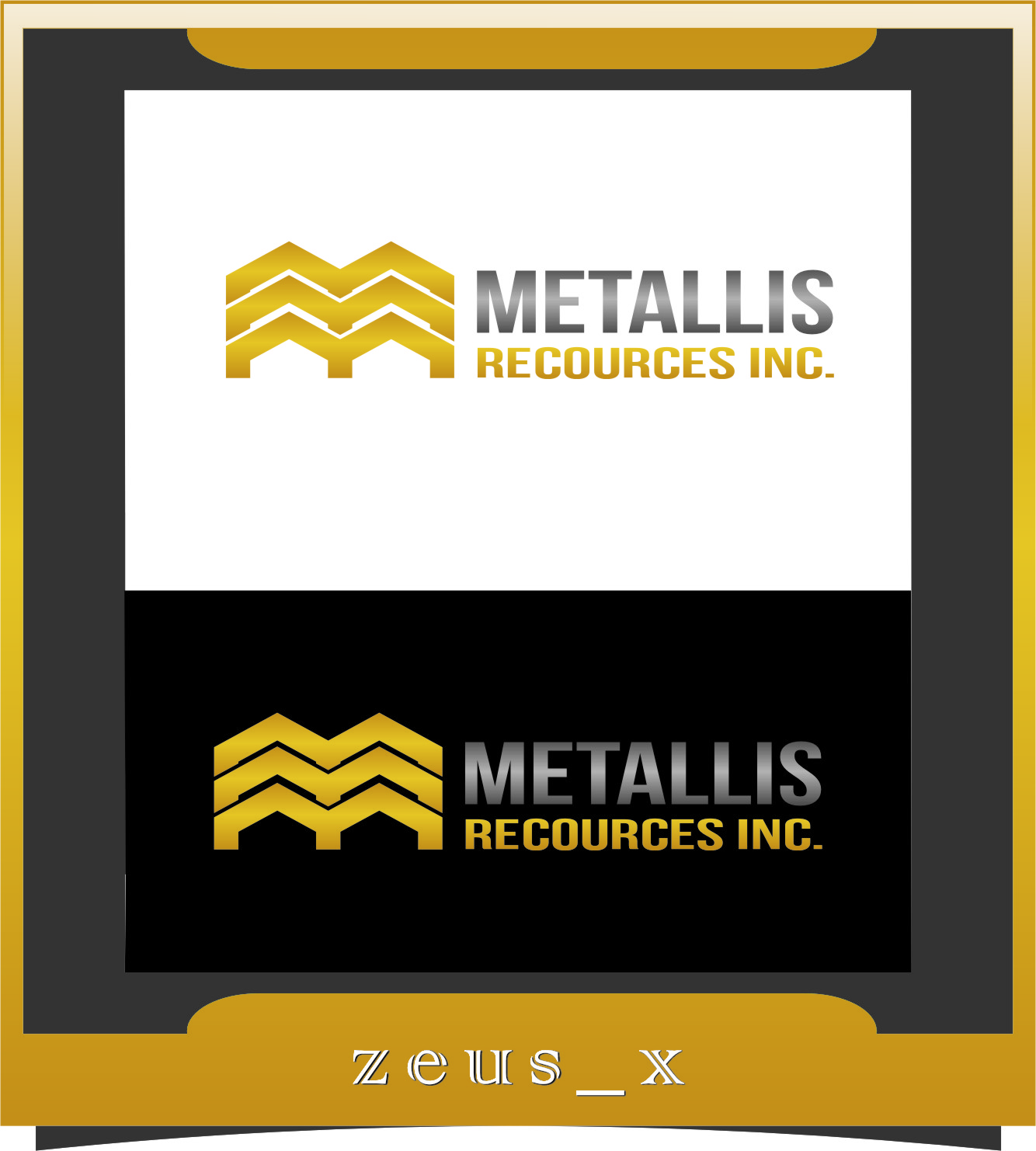 Logo Design by RasYa Muhammad Athaya - Entry No. 100 in the Logo Design Contest Metallis Resources Inc Logo Design.