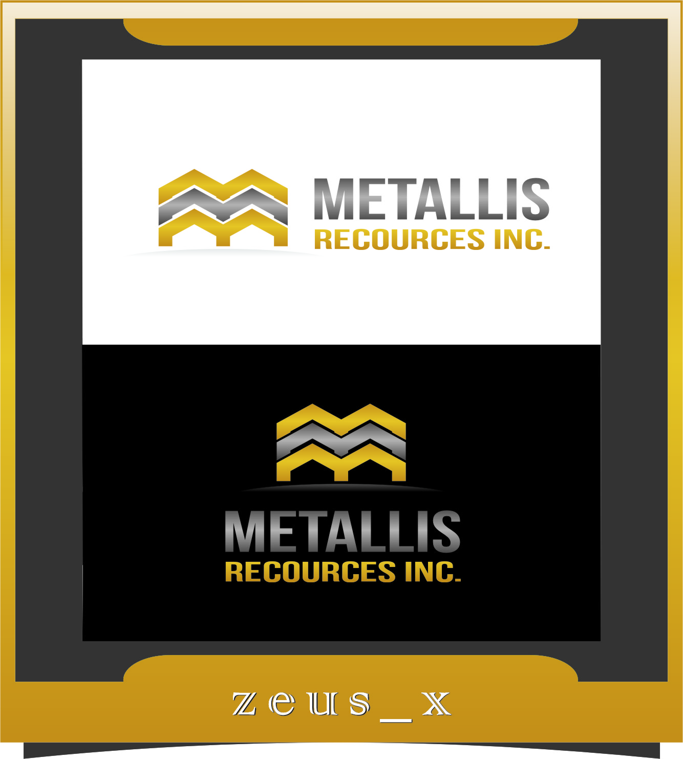 Logo Design by RasYa Muhammad Athaya - Entry No. 101 in the Logo Design Contest Metallis Resources Inc Logo Design.