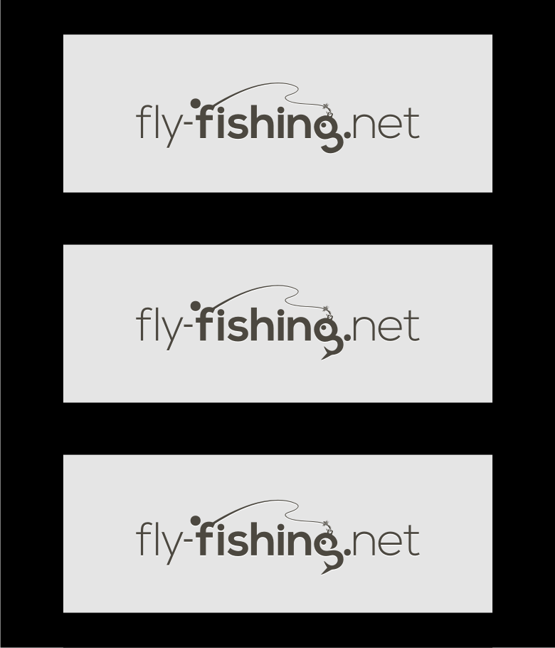 Logo Design by graphicleaf - Entry No. 115 in the Logo Design Contest Artistic Logo Design for fly-fishing.net.