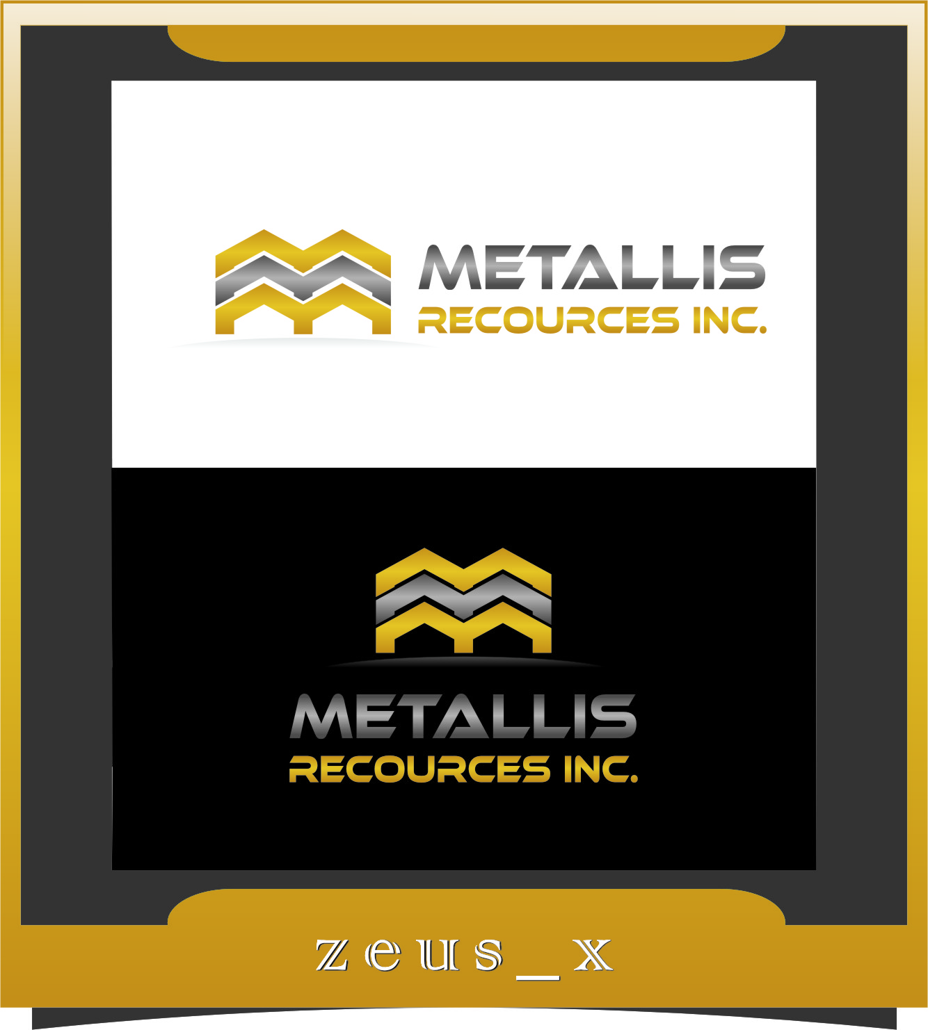 Logo Design by RasYa Muhammad Athaya - Entry No. 102 in the Logo Design Contest Metallis Resources Inc Logo Design.