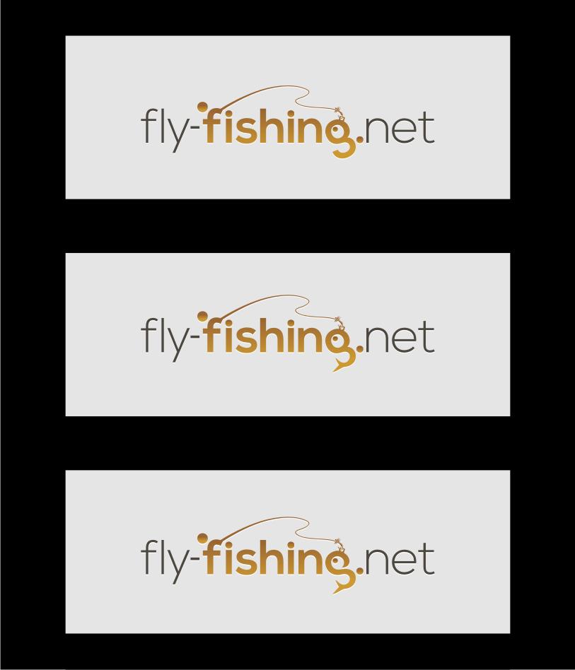 Logo Design by Muhammad Nasrul chasib - Entry No. 116 in the Logo Design Contest Artistic Logo Design for fly-fishing.net.