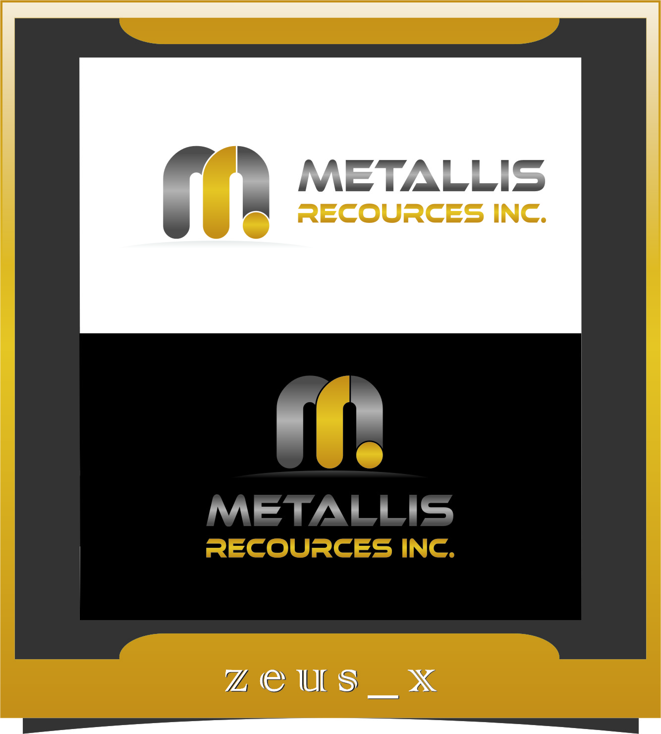 Logo Design by RasYa Muhammad Athaya - Entry No. 103 in the Logo Design Contest Metallis Resources Inc Logo Design.