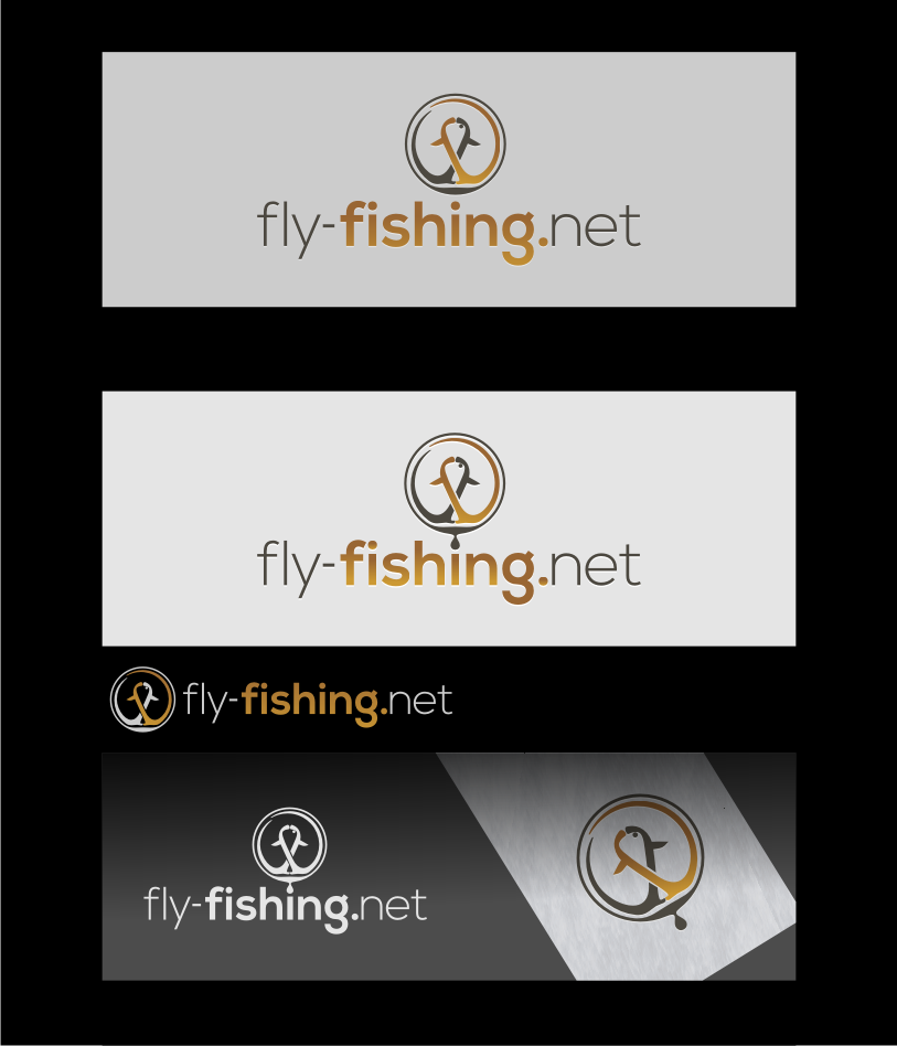 Logo Design by graphicleaf - Entry No. 118 in the Logo Design Contest Artistic Logo Design for fly-fishing.net.