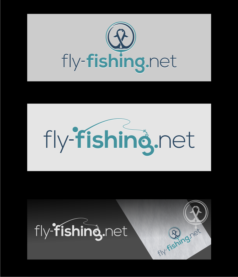 Logo Design by graphicleaf - Entry No. 120 in the Logo Design Contest Artistic Logo Design for fly-fishing.net.