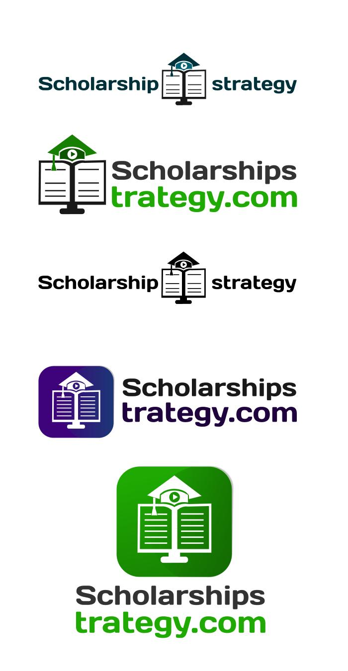 Logo Design by Private User - Entry No. 27 in the Logo Design Contest Captivating Logo Design for Scholarshipstrategy.com.