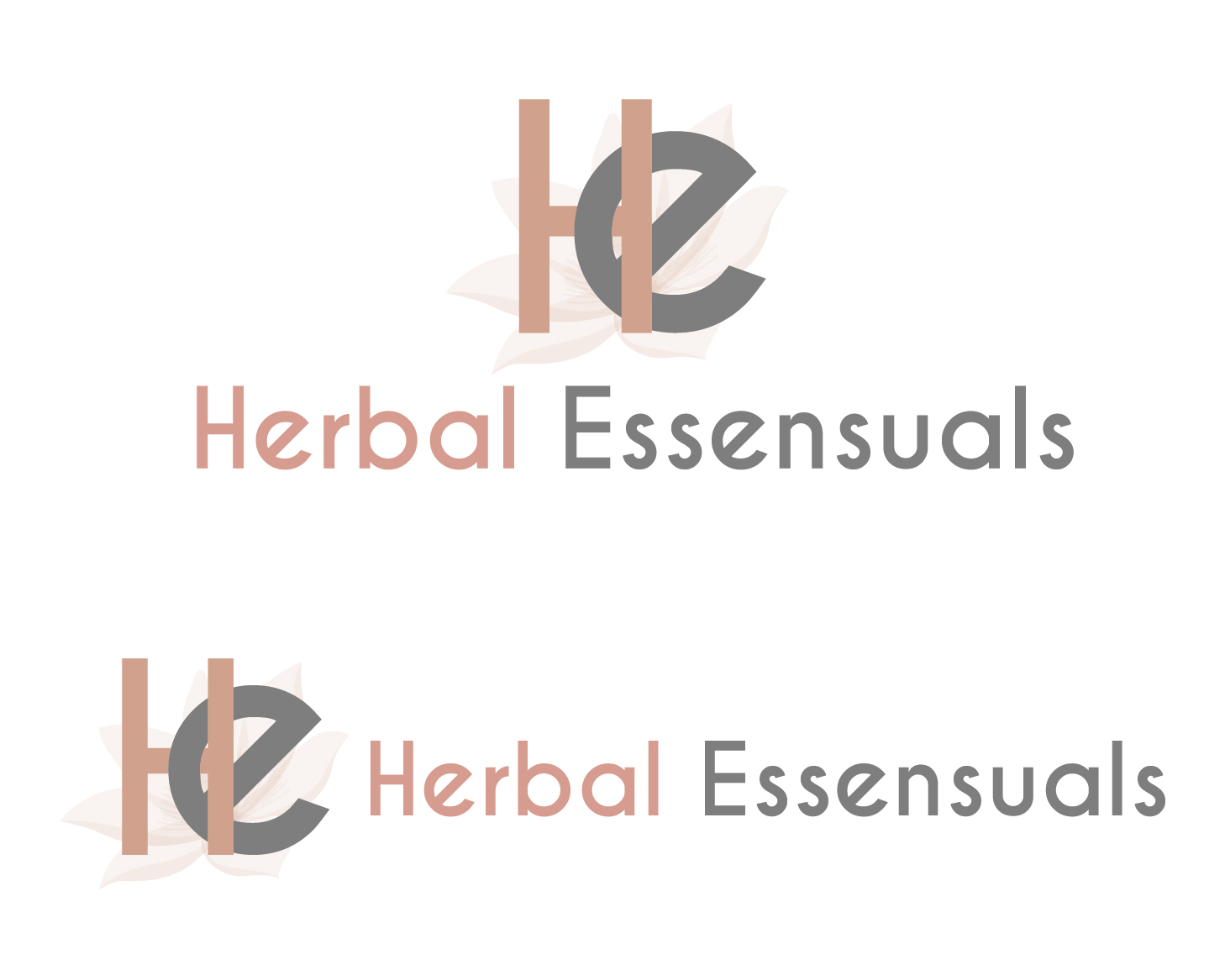 Logo Design by VENTSISLAV KOVACHEV - Entry No. 10 in the Logo Design Contest Captivating Logo Design for Herbal Essensuals.