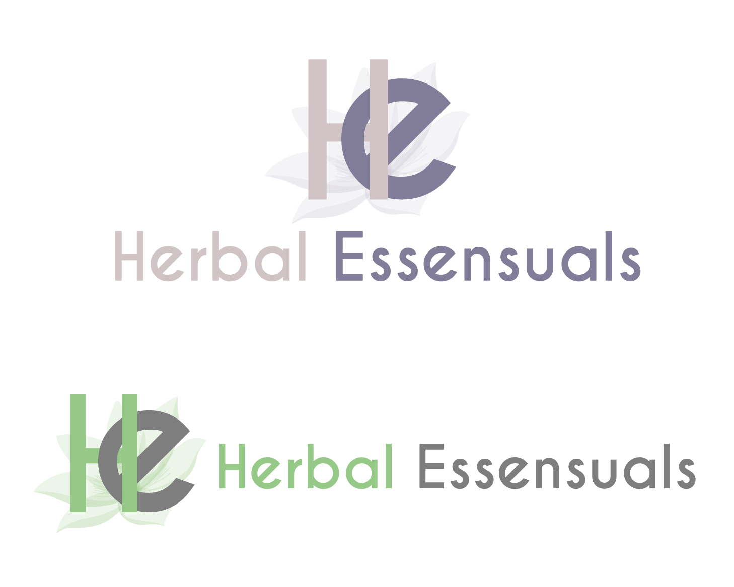 Logo Design by VENTSISLAV KOVACHEV - Entry No. 11 in the Logo Design Contest Captivating Logo Design for Herbal Essensuals.