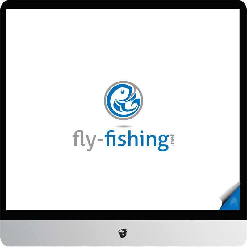 Logo Design by zesthar - Entry No. 128 in the Logo Design Contest Artistic Logo Design for fly-fishing.net.