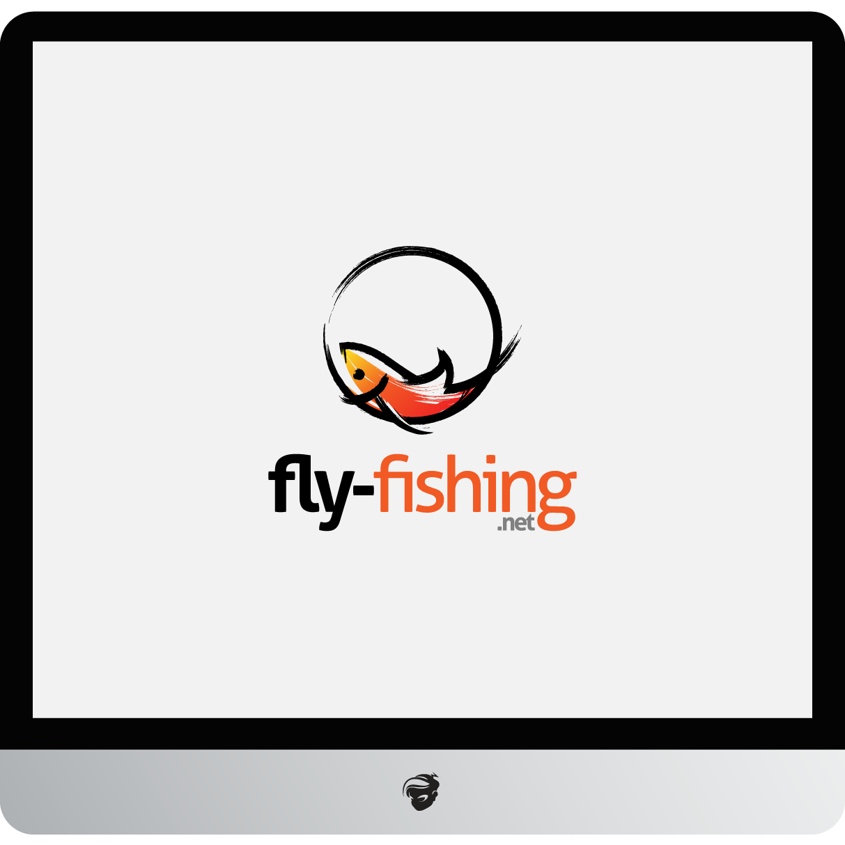Logo Design by zesthar - Entry No. 129 in the Logo Design Contest Artistic Logo Design for fly-fishing.net.