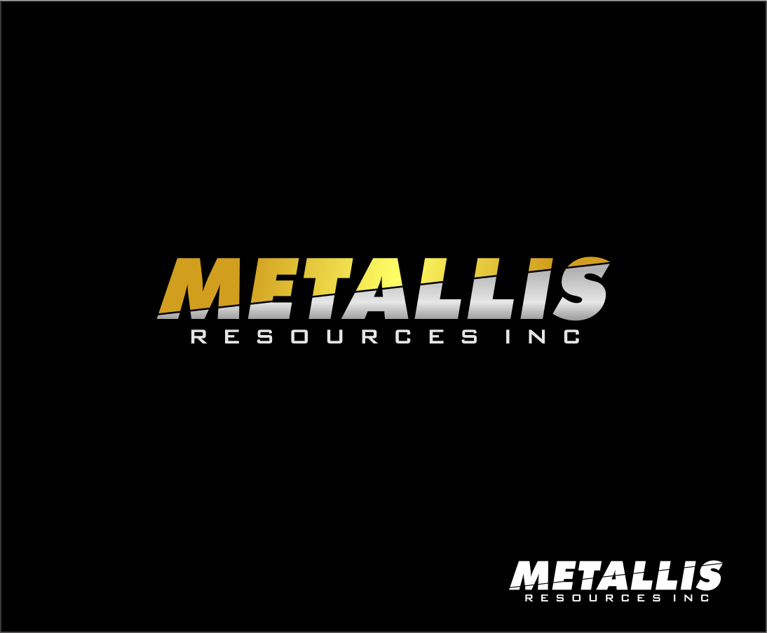 Logo Design by haidu - Entry No. 104 in the Logo Design Contest Metallis Resources Inc Logo Design.