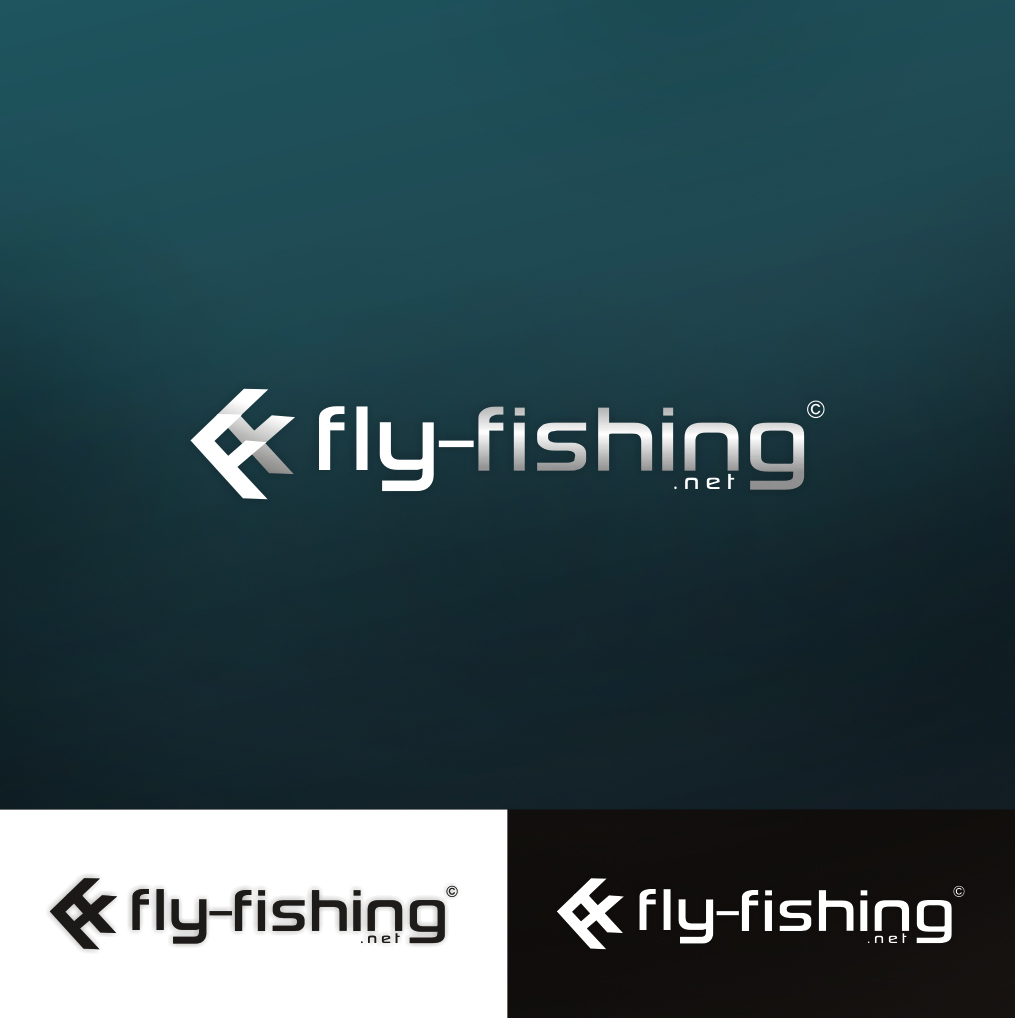 Logo Design by Think - Entry No. 134 in the Logo Design Contest Artistic Logo Design for fly-fishing.net.