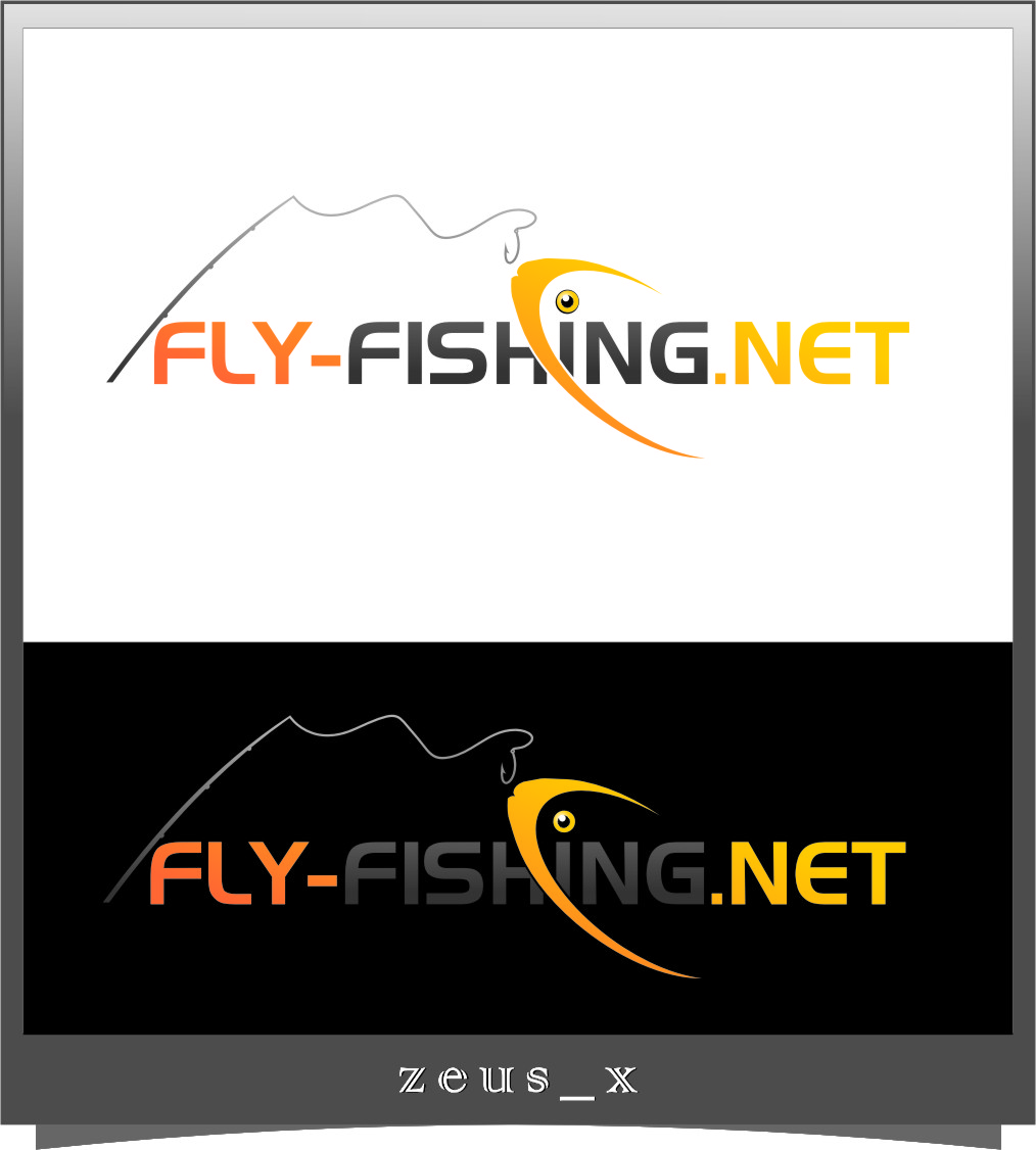 Logo Design by Ngepet_art - Entry No. 135 in the Logo Design Contest Artistic Logo Design for fly-fishing.net.